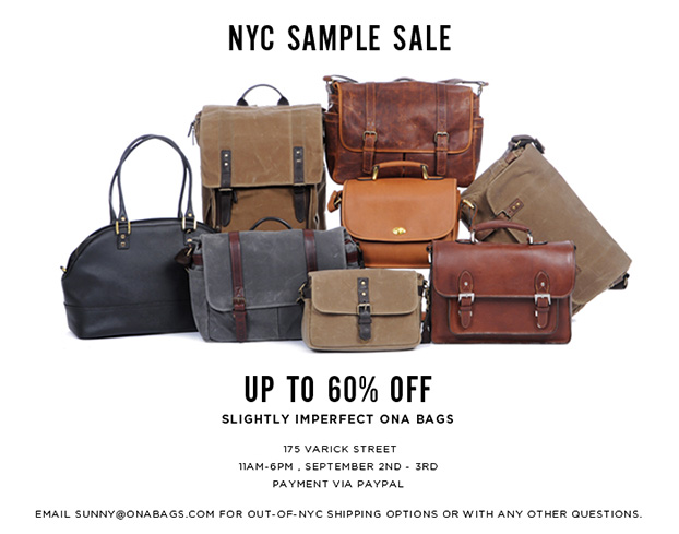 ONA-sampleSale