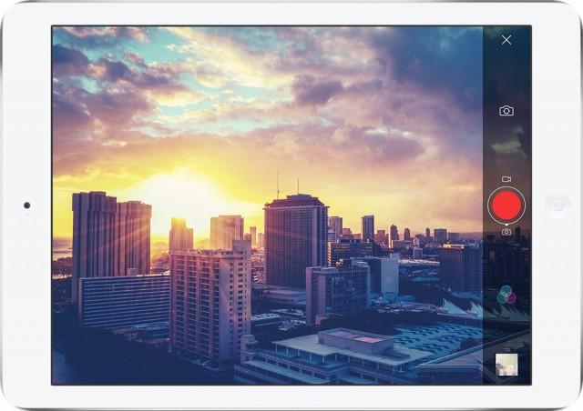 Flickr iPad App Camera Integration