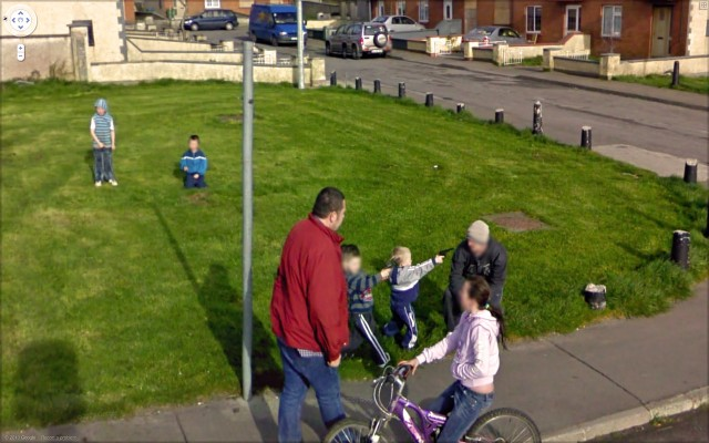 Google Street View Street Photography