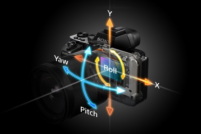 Sony A7 II 5 Axis Image Stabilization