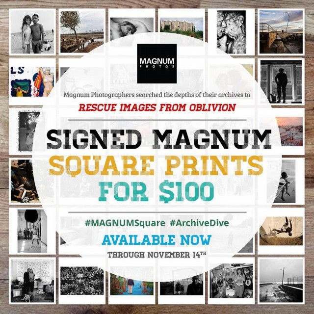 Magnum Square Print Sale Available Now
