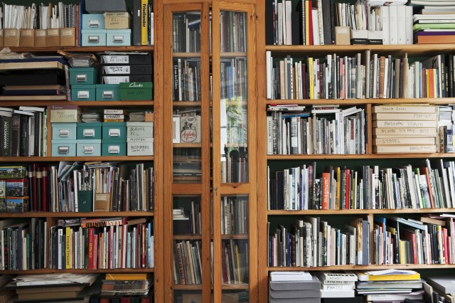 Martin Parr's Book Collection