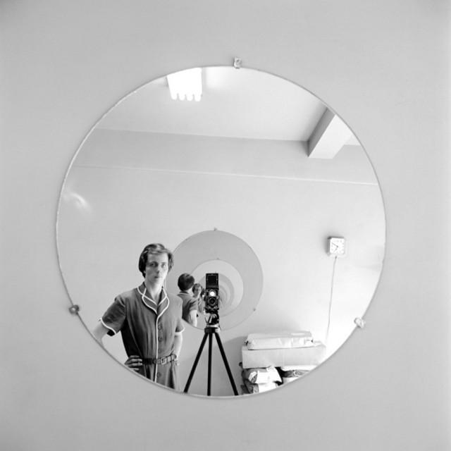 Vivian Maier Self Portrai