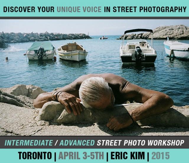 Eric Kim Street Photography Workshop