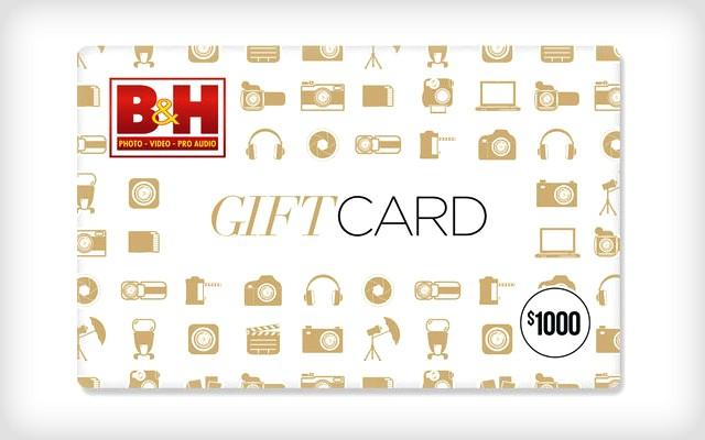 PetaPixel $1000 B&H Gift Card