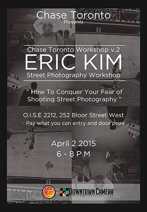 Erick Kim Street Photography Workshop