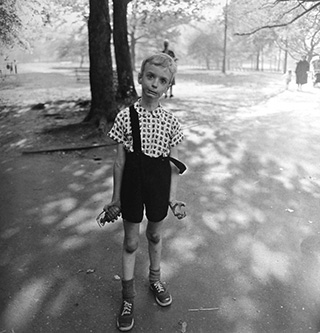 Diane Arbus Boy With Toy Hand Grenade