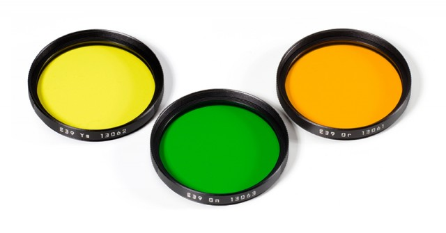 New Leica Monochrom Filters