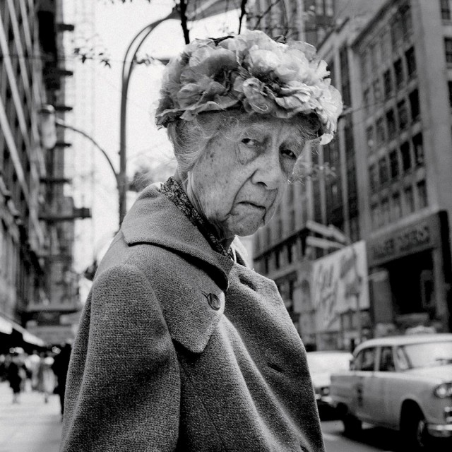 Photo © Vivian Maier, Negative In The Collection of Stephen Bulger Gallery