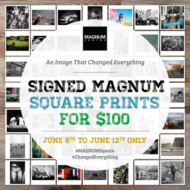 Magnum Square Print Sale - Changed Everything