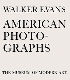 American Photographs, Walker Evans.
