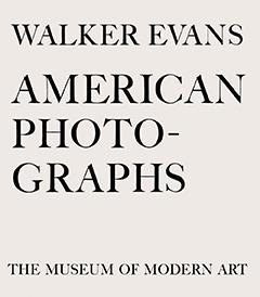 American Photographs, Walker Evans.