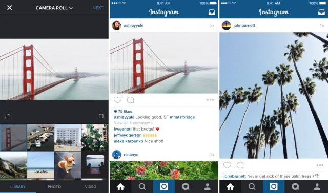 Instagram Adds Horizontal Aspect Ratio