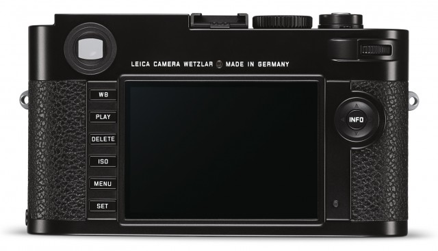 New Leica M Typ 262 Back