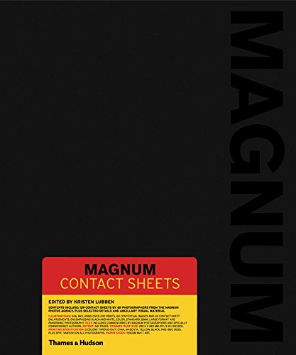 Magnum Contact Sheets Book Cover