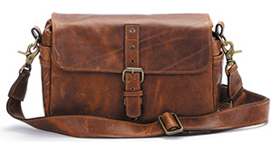 ONA Bowery Leather Camera Bag Anique Cognac