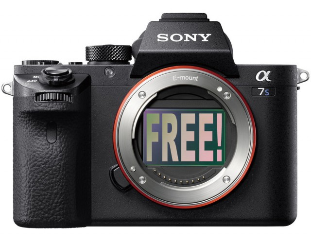 Sony A7S II Giveaway Premium Beat
