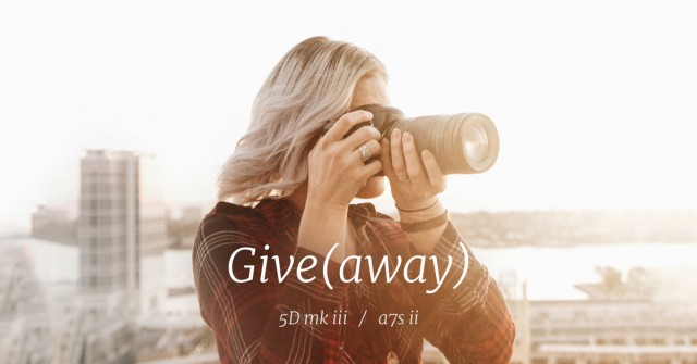 Sony a7S II Giveaway (Or Canon 5D Mark III)