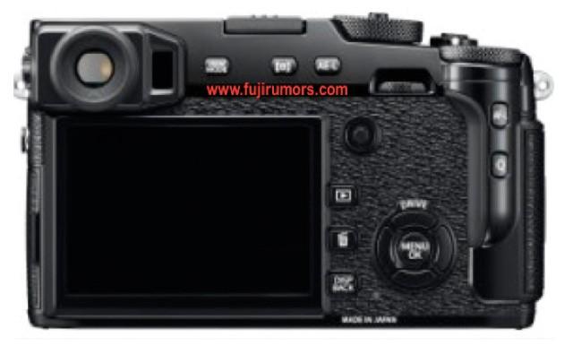 Fuji X Pro2 Back