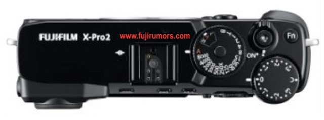 Fuji X Pro2 Top