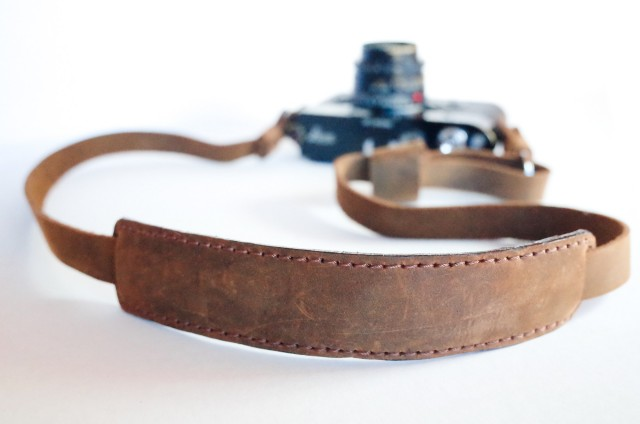 Henri By Eric Kim - Leather Camera Strap