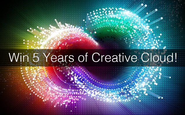 Win 5 Years Of Adobe Creative Cloud For Free