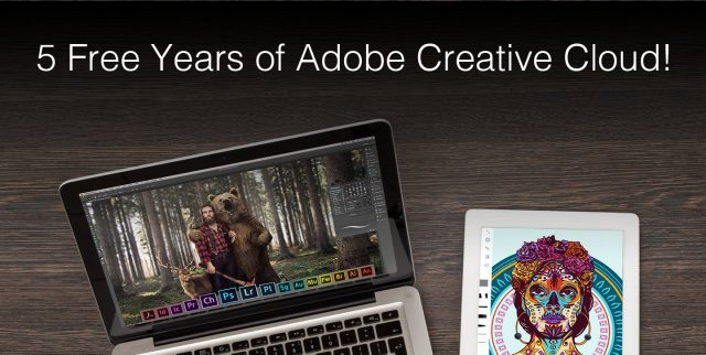 Win 5 Free Years Of Adobe Creative Cloud