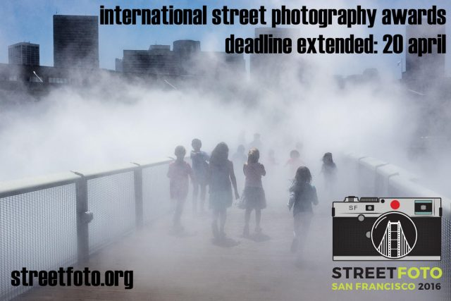 StreetFoto Street Photography Contest Deadline Extended