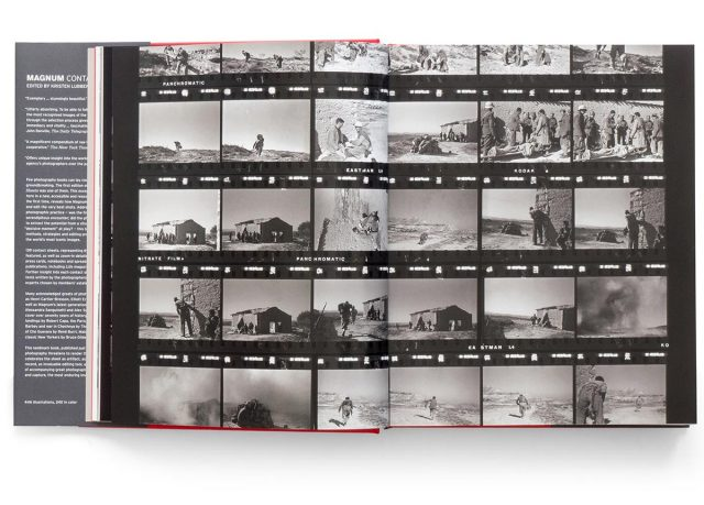 Magnum Contact Sheets Signed