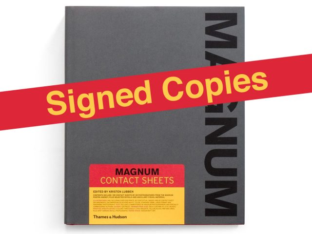 Magnum Contact Sheets Signed By 12 Photographers