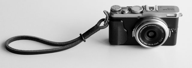 Fuji X70 Street Photography Review - Wrist Strap
