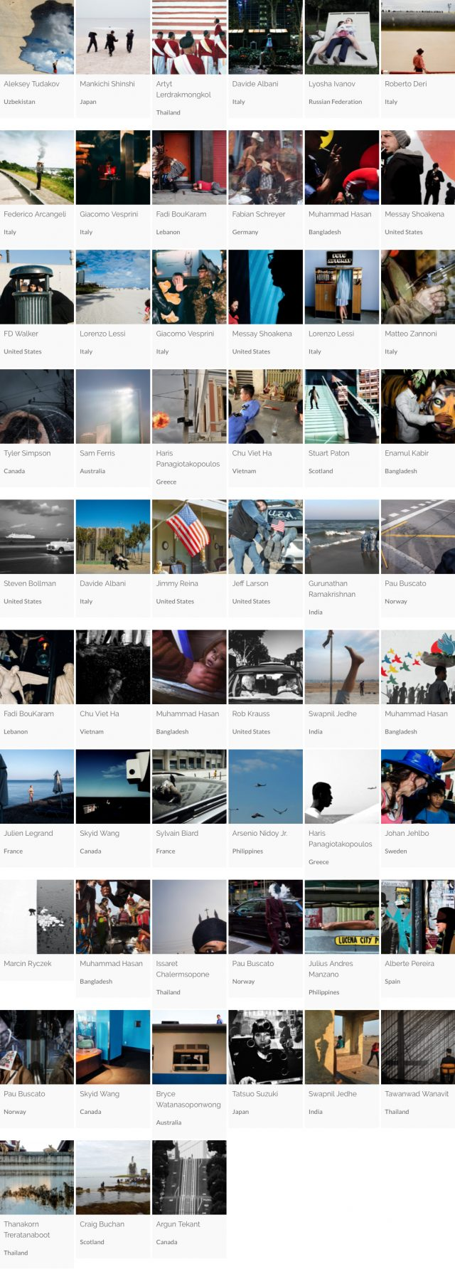 StreetFoto Finalists - Single Image Category