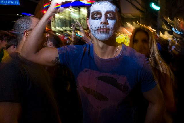 Halloween Street Photography - Find A Spot And Stay There
